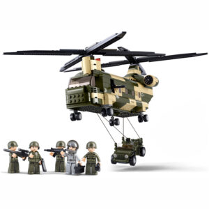 Sluban Building Blocks - Army - Transport Helicopter