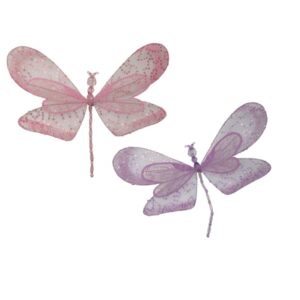 Beaded Dragonfly Clip - Large