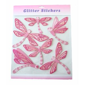 Glitter Stickers - Dragonfly Set