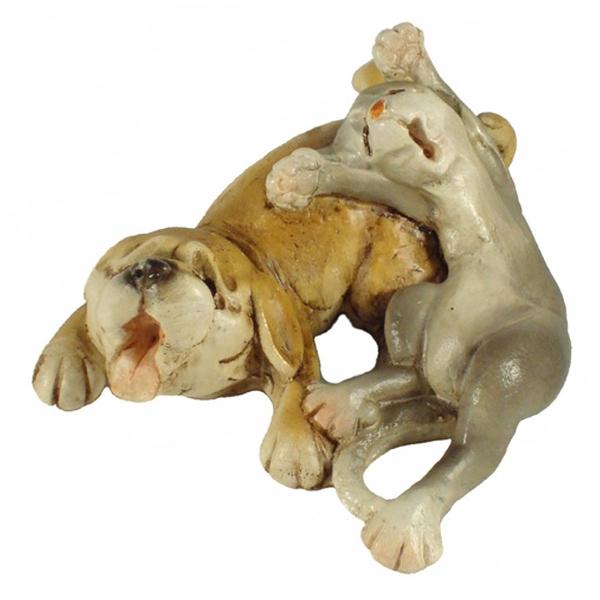 Dog Buddies - With Cat