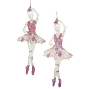 Hanging Acrylic Ballerina - Style A