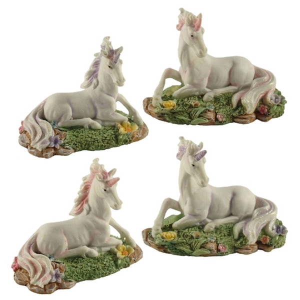 Unicorns - 4 Assorted