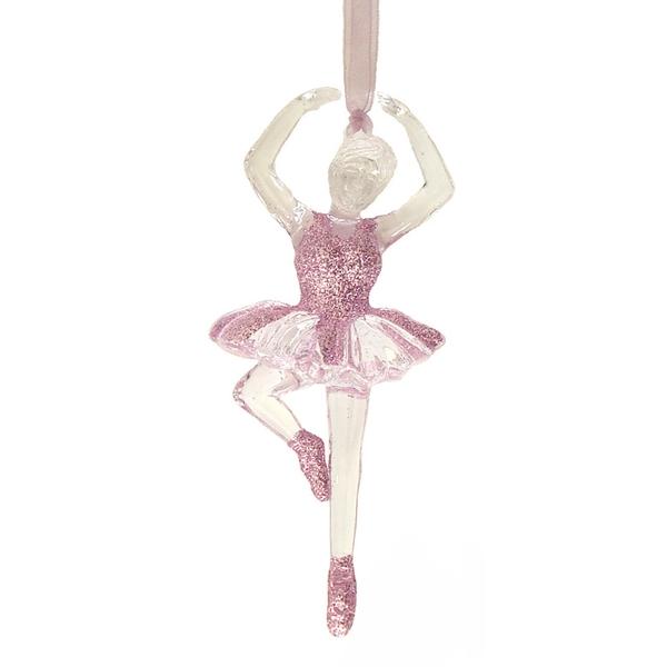Hanging Acrylic Ballerina - 13cmL