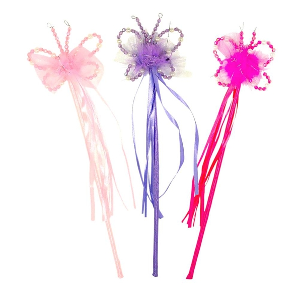 Fairy wand beaded butterfly 1 jopaz for Butterfly wands wholesale