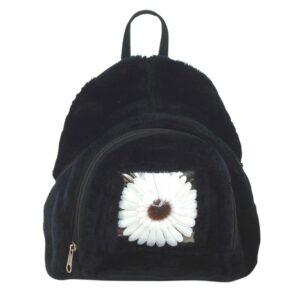 Back Pack - Plush Flower Window