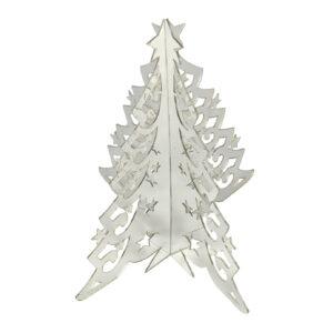 Mirror Acrylic Christmas Tree - Small 15cm