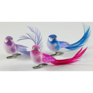 Bird Clip - Fantail - 7cm