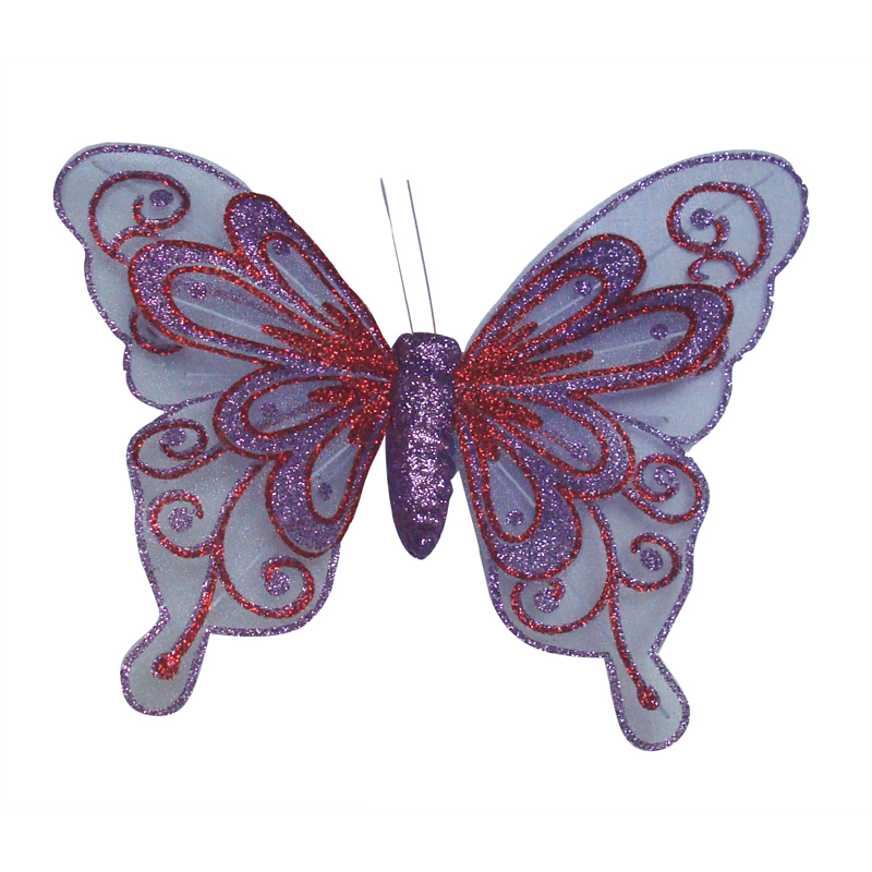 Butterfly Clip - Twin Layer - 20cm