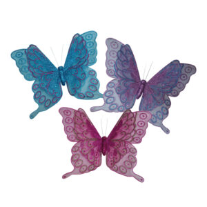 Butterfly Clip - Twin Layer - 40cm