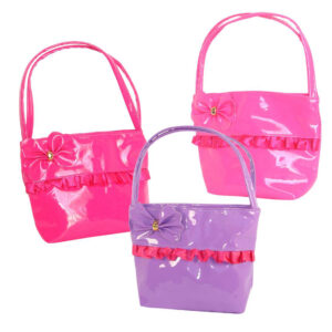 Handbag with Ribbon & Bow