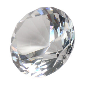 K11 Crystal Diamond - Clear - 4cm