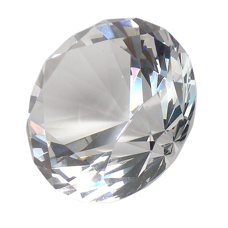 K11 Crystal Diamond - Clear - 4cm