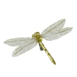 Dragonfly Clip - Foil - 10cm Gold
