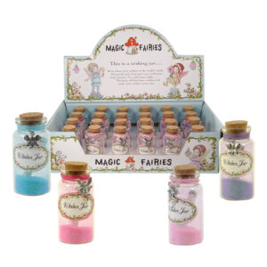 Magic Fairy Wishes Jar w/Fairy Dust & Charm
