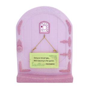 Fairy Door with Message Sign