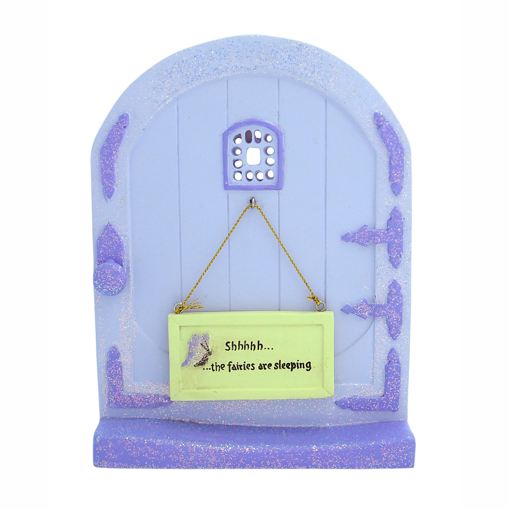 Fairy Door with Message Sign