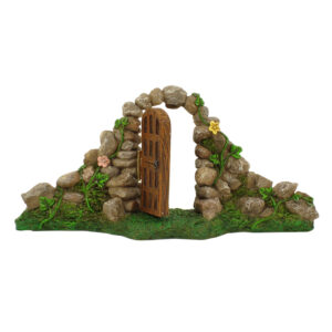 Fairy Garden Door with Stone Arch