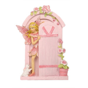 Fairy Door w/Fairy - 2 Designs Assorted - ETA 5/9/17