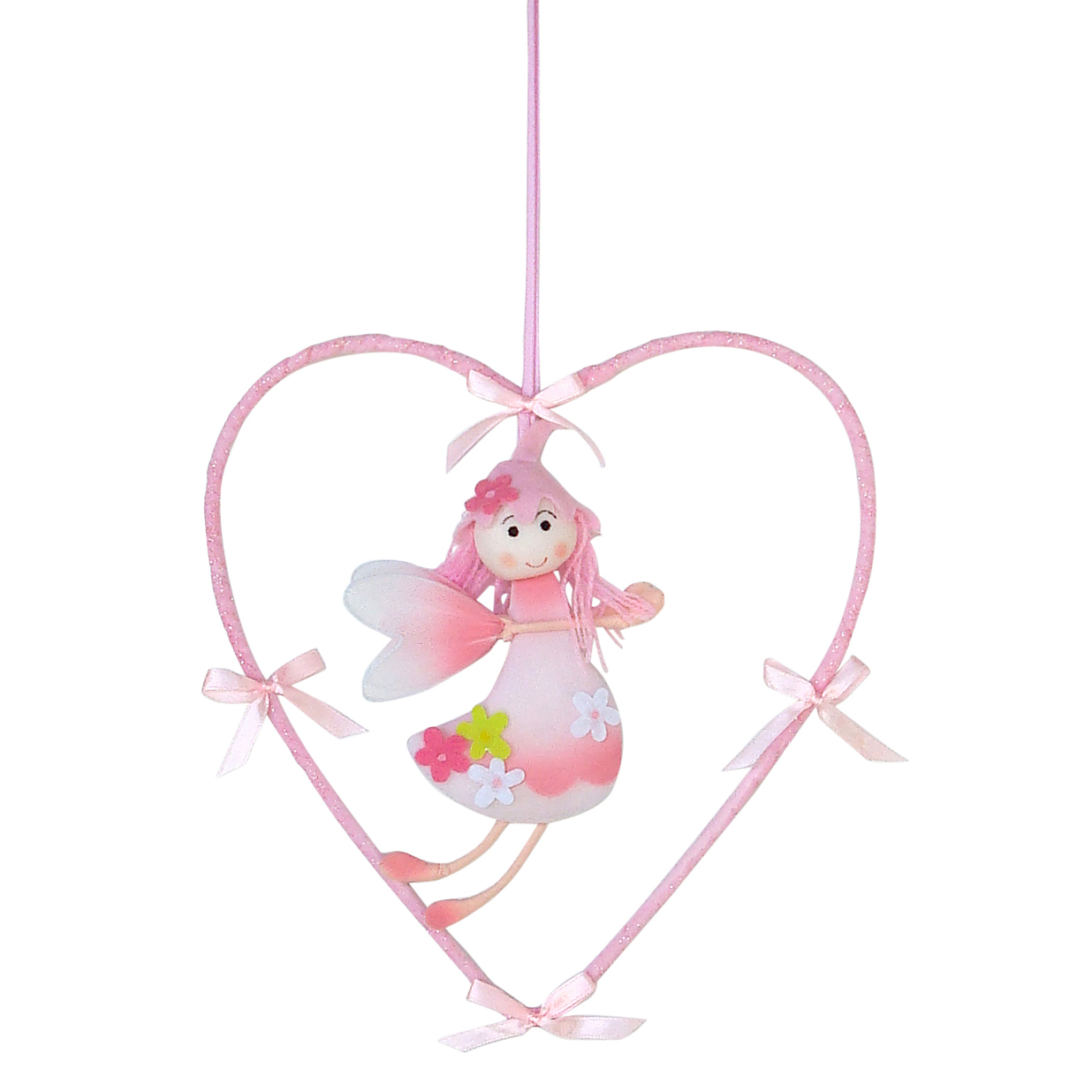 Hanging Decoration - Fairy in Heart