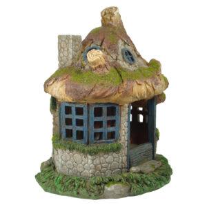 Solar Fairy Garden House - 22cm