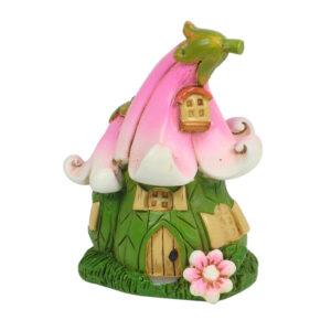 Flower Mini Fairy Garden House