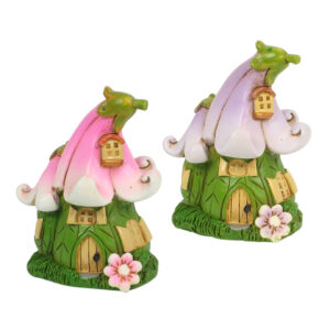Flower Mini Fairy Garden House
