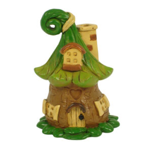 Seed Pod Mini Fairy Garden House