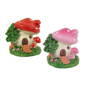 Mini Mushroom House - 6cm