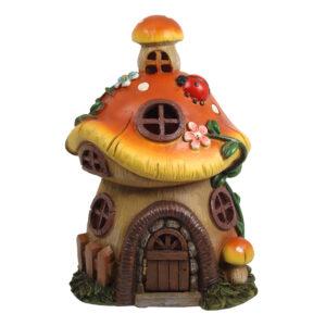 Solar Mushroom House w/Opening Door