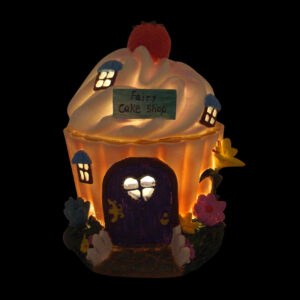 Solar Fairy Cake Shop House