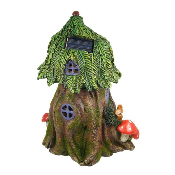 Solar Fairy Tree House 25cm