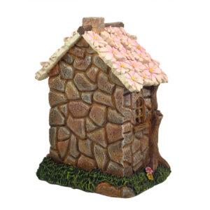 Solar Fairy Flower Cottage 16cm