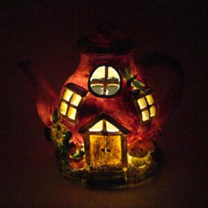 Solar Fairy House - Teapot - ETA 29/8/17