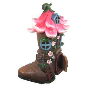LED Flower Boot House w/Opening Door - ETA 3/10/17