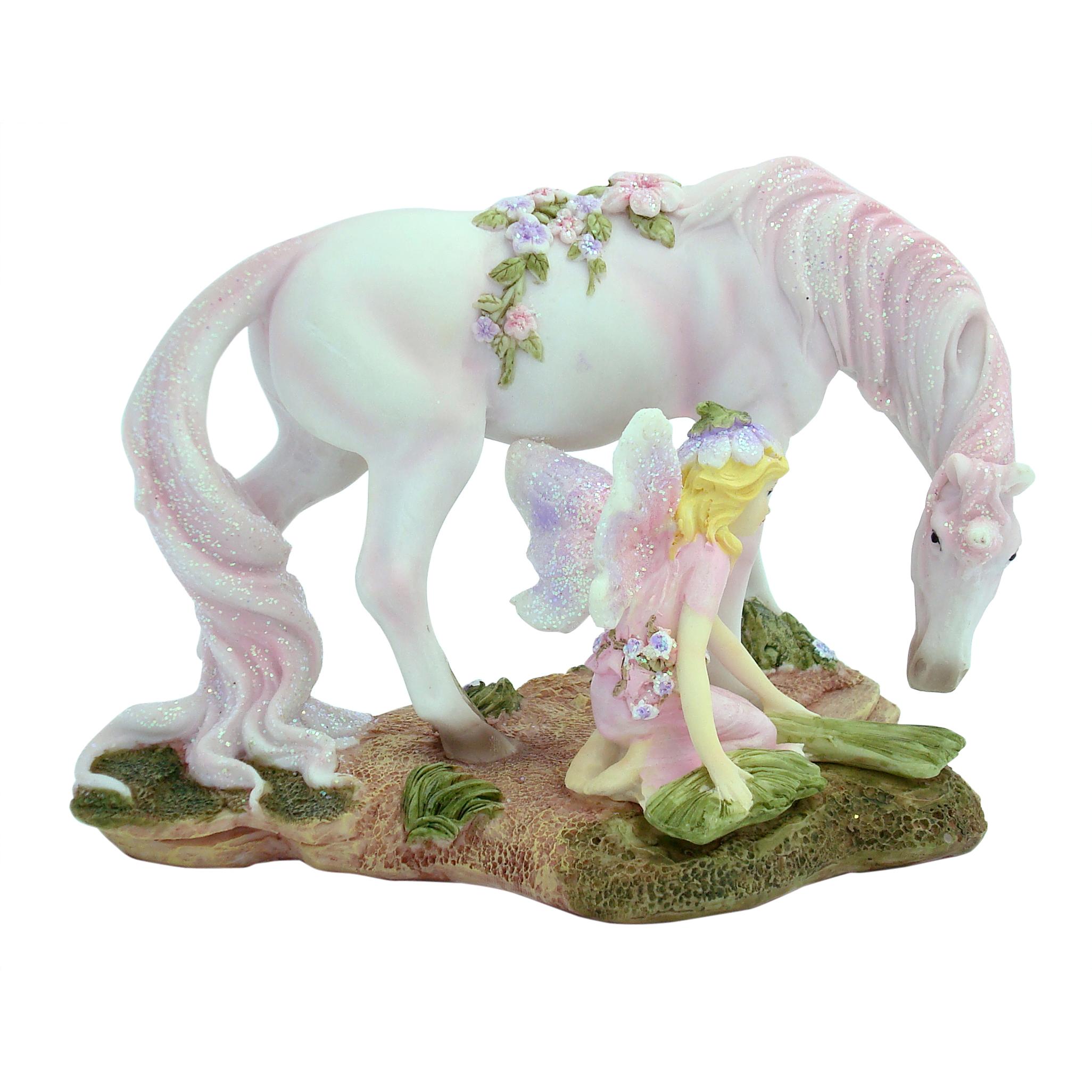 Fairy with Unicorn - 17.5cm - Restock ETA 5/9/17