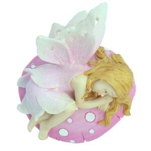 Fairy on Mushroom - 15cm