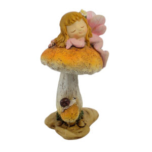 Woodland Fairy on Mushroom