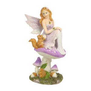 Fairy on Mushroom w/Forest Friends 16cm - ETA 5/9/17