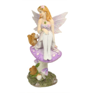Fairy on Mushroom w/Forest Friends 16cm - ETA 5/9/17