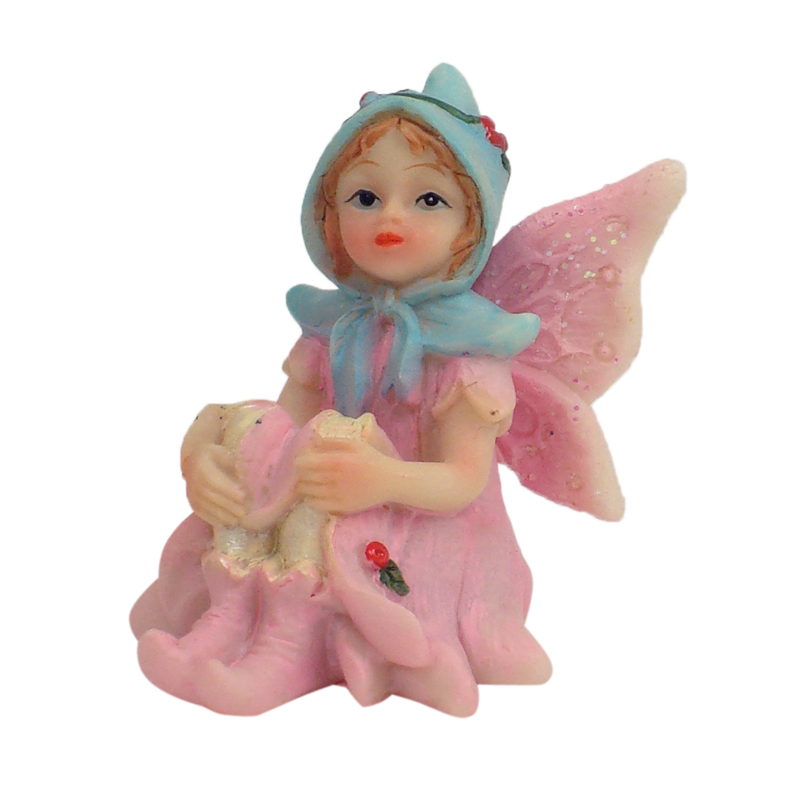Enchanted Garden Fairy - Sitting