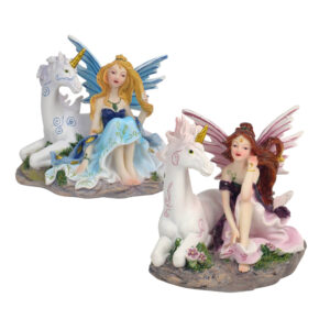 Mystical Fairy & Unicorn 10cm