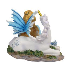 Mystical Fairy & Unicorn 10cm