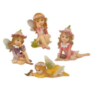 Flower Garden Fairy 7cm - 4 Designs Assorted - ETA 7/11/17