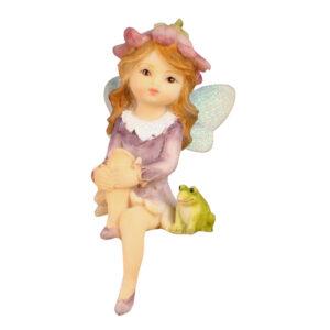 Flower Garden Shelf Sitting Fairy - 6 Assorted - ETA 7/11/17