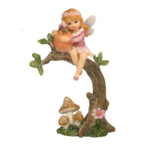 Flower Garden Fairy on Branch - 2 Assorted - ETA 7/11/17