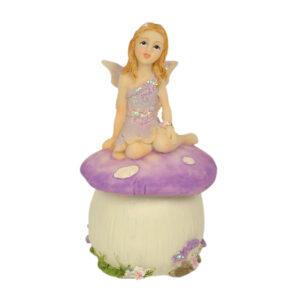 Mushroom Fairy Trinket Box - ETA 5/9/17