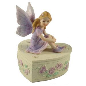 Fairy Trinket Box - Heart