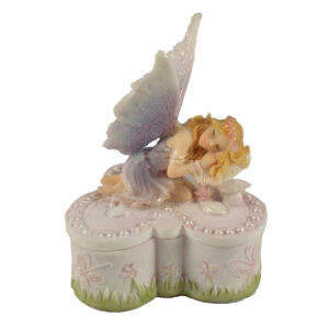 Fairy Sleeping on Butterfly Box