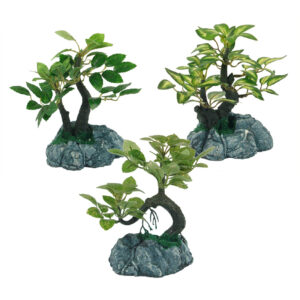 Artificial Tree - 15cm - 3 Assorted