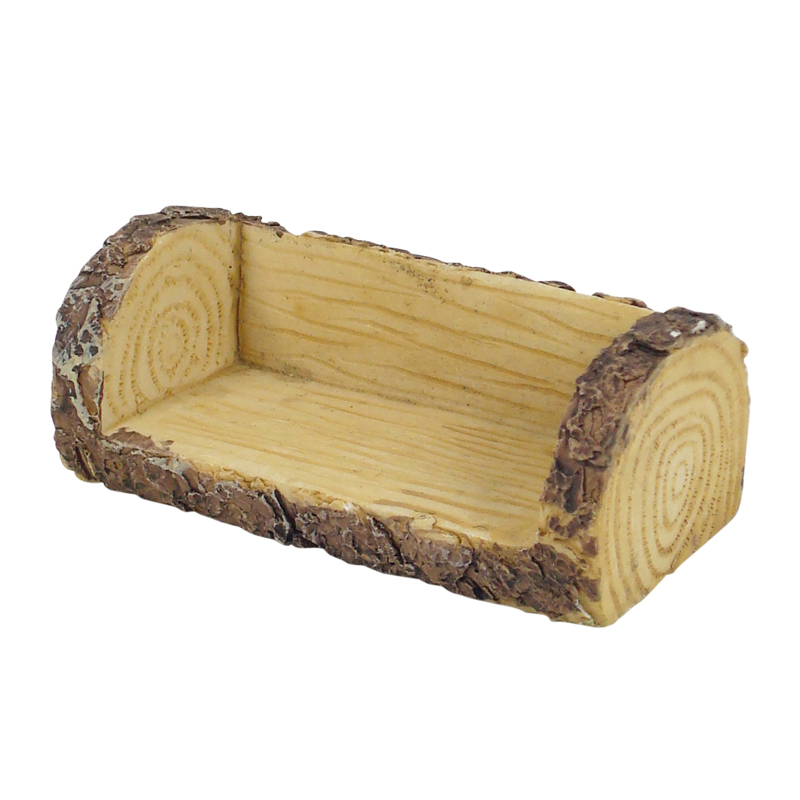 Excellent Fairy Garden Furniture Log Bench Bralicious Painted Fabric Chair Ideas Braliciousco